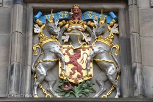 Edinburgh Castle Coat of Arms