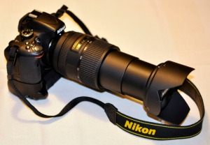 Nikon D5100 with Nikkor AF-S DX 18-300mm lens
