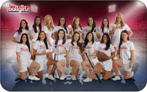 2013 Phillie Ballgirls