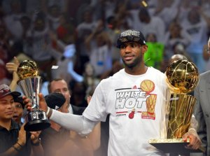 LeBron James 2013 NBA Finals MVP