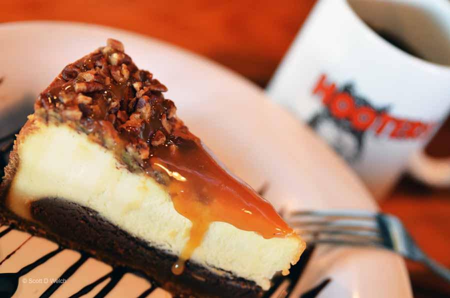Hooters Chocolate Cake