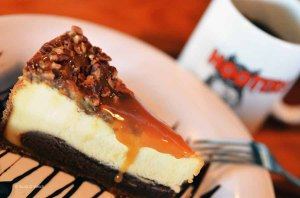 Hooters Caramel Fudge Cheesecake