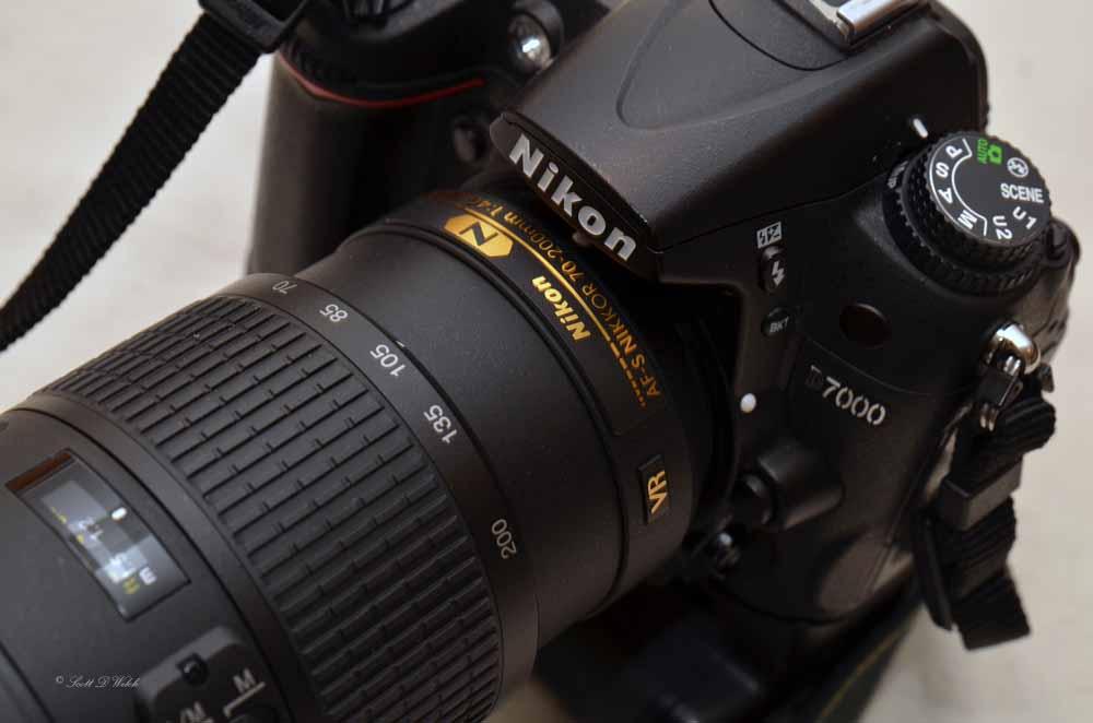 Nikon 70-200mm f4G ED VR Lens