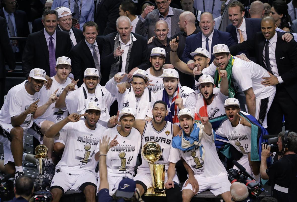 San Antonio Spurs 2014 Nba Champions Main Street One