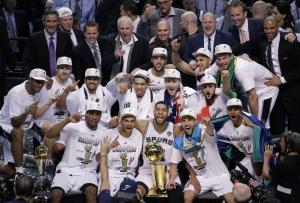 San Antonio Spurs 2014 NBA Champions