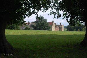 Penshurst Place Viewed From The Road