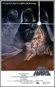 Star Wars Movie Poster 1977