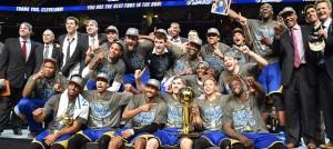 Golden-State-Warriors-Celebrate-Finals-Trophy