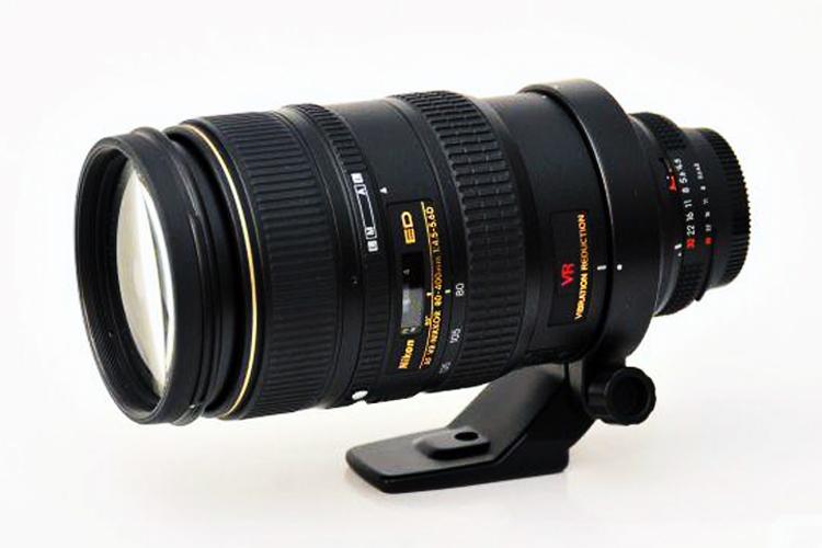 Nikon AF 80-400mm f/4.5-5.6D ED VR Lens