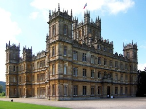 Highclere Clastle aka Downton Abbey