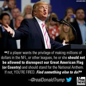 Trump US Flag
