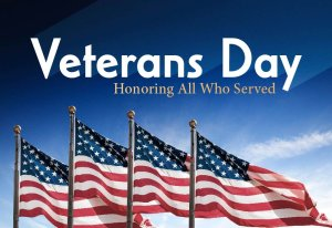 Vets Day Honoring All Who Served