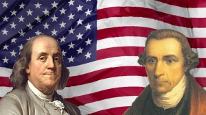 Flag - Benjamin Franklin - Patrick Henry