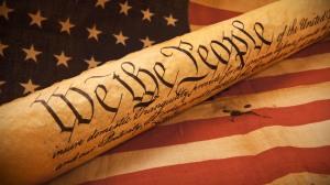 US Constitution Flag