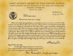 1st US Patent